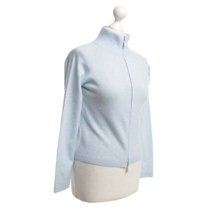 Malo Cashmere cardigan in light blue