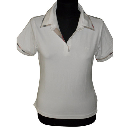 Burberry Polo shirt in white