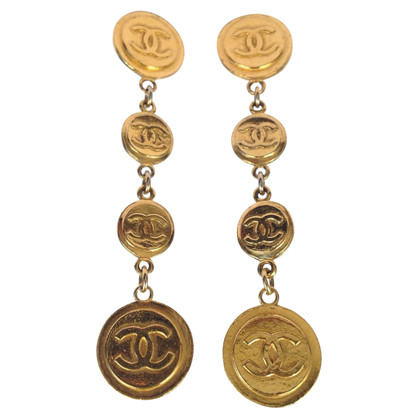 Chanel Vintage clip earrings