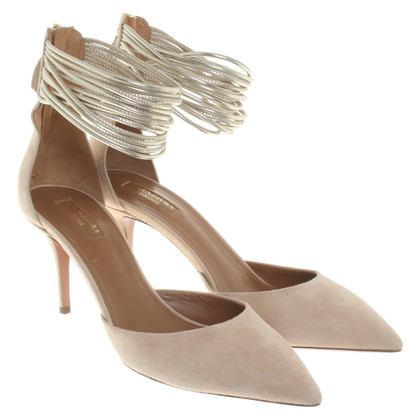 Aquazzura pumps pelle scamosciata - Hello Lover 75