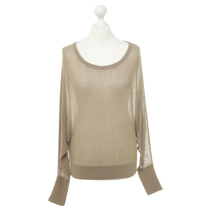 BCBG Max Azria top in mesh optics