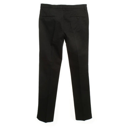 Filippa K Cotton trousers in black