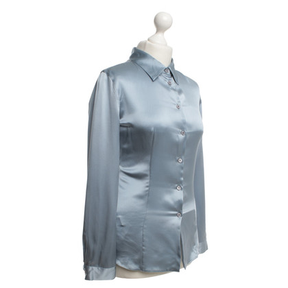 Prada Silk blouse in petrol