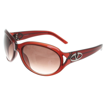 Valentino Sunglasses in Bordeaux