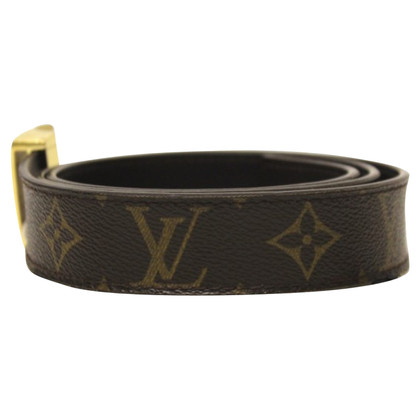 Louis Vuitton Belt with gold buckle