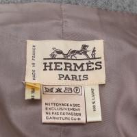 Hermès Avvolgere gonna grigia