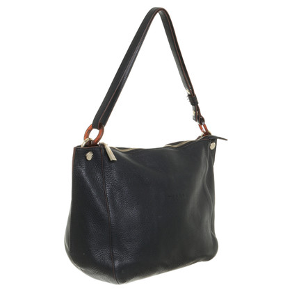 Other Designer Smooth leather bag in black by Tosca Blu
