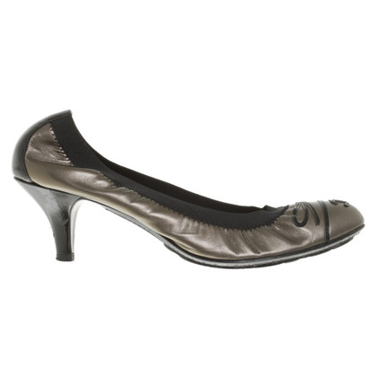 Chanel pumps in groen