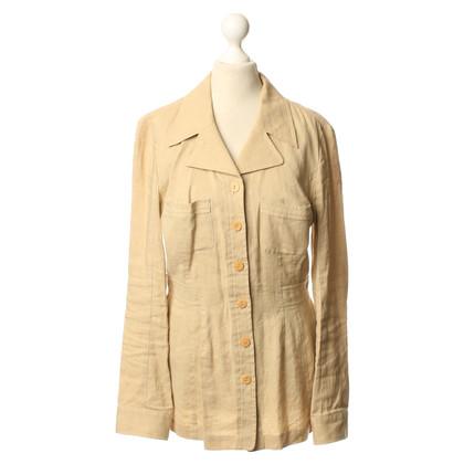 Kenzo Lange Blazer in beige