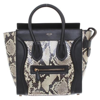 """Céline Pelle di pitone """"Micro Luggage Bag"""""""