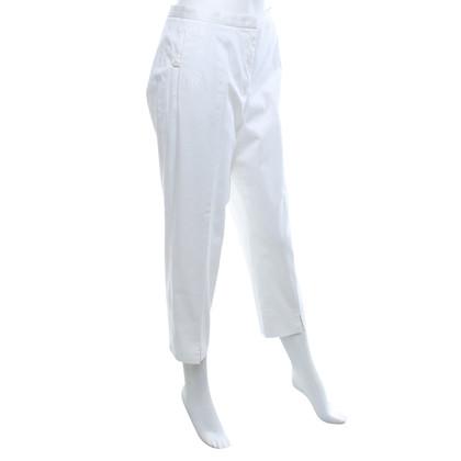 Jil Sander 7/8 pantaloni in bianco