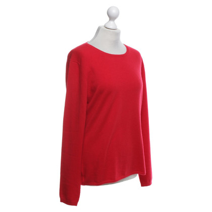 Allude Cashmere sweater in red
