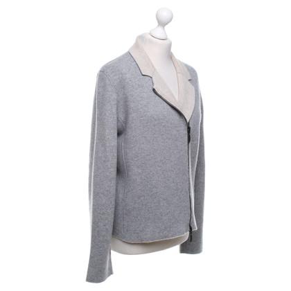 Iris von Arnim Maglione cashmere in grigio / beige