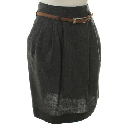 Natan Wool skirt in grey