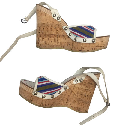 Miu Miu Wedges with cork sole