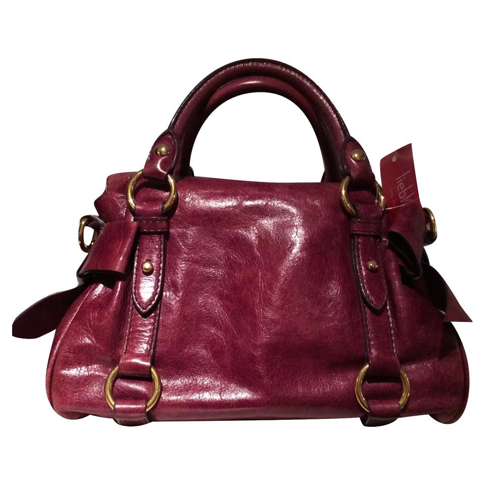 miu miu handtasche second hand miu miu handtasche gebraucht kaufen f r 450 00 2495377. Black Bedroom Furniture Sets. Home Design Ideas