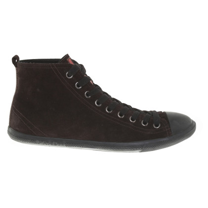 Prada Sneaker in dark brown