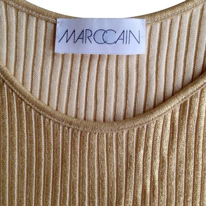 Marc Cain Gold mouwen Top
