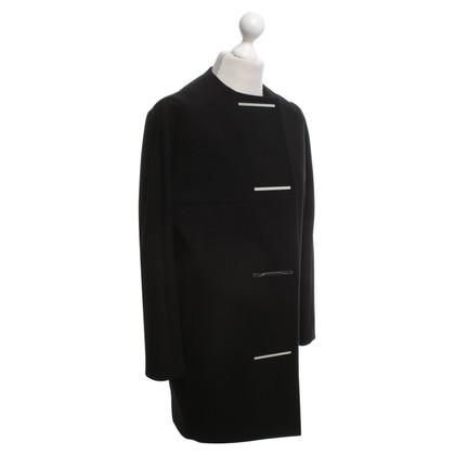 Balenciaga Coat in zwart