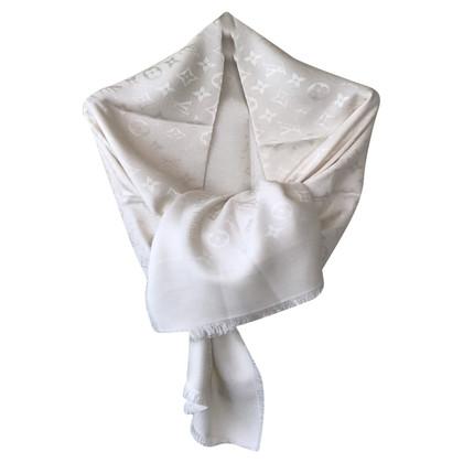 Louis Vuitton panno Monogram in bianco