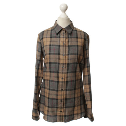 Barbour Blouse met geruite patroon