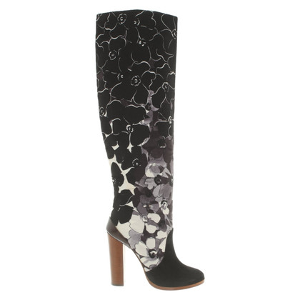Vionnet Boots with pattern