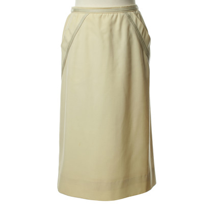 Hermès Pencil skirt in cream