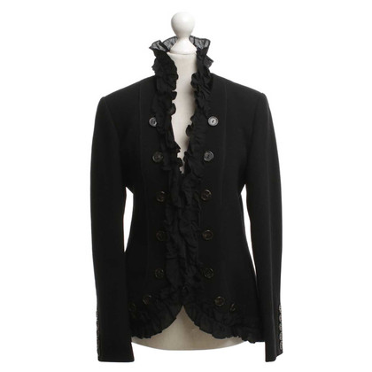 Nusco Blazer con bordature arricciate