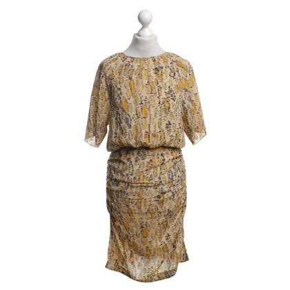 Twenty8Twelve Silk dress with pattern