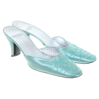 Jourdan pumps Open in mint