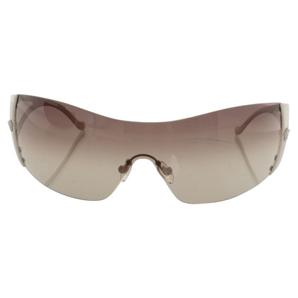Versace Monoshade sunglasses with logo application