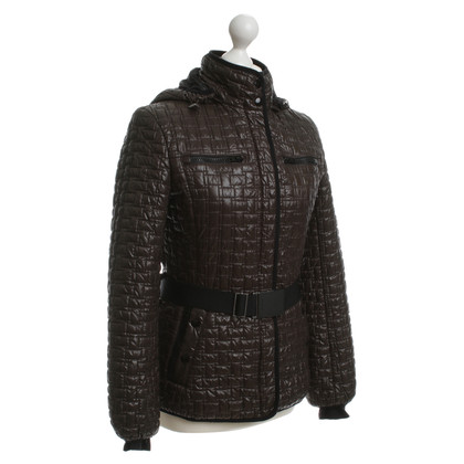 Mabrun Quilted Jacket in Brown