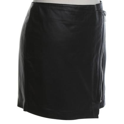 Set Mini skirt in black