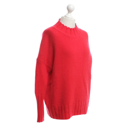 Other Designer 360 Cashmere Cashmere Sweater in Red