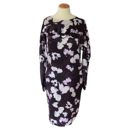Hugo Boss Davira zijden jurk met print