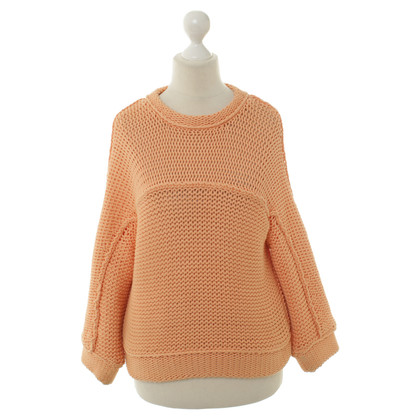 Brunello Cucinelli Pullover in Orange