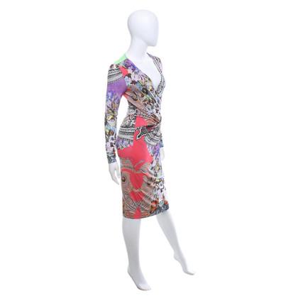 Etro Jersey jurk met patroon