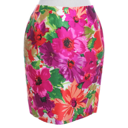 Balenciaga skirt with floral pattern