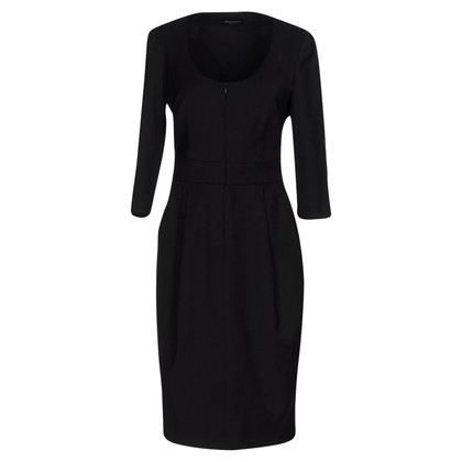 Armani Black dress with zipper