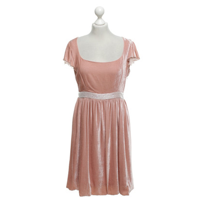 Blumarine Fluwelen jurk