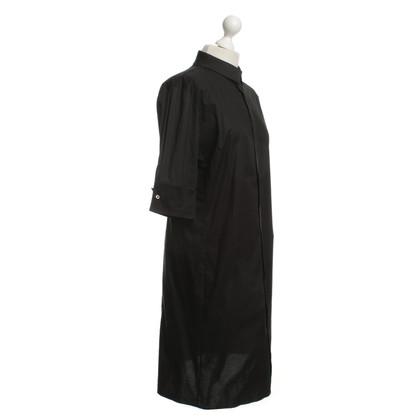 Schumacher Hemblusenkleid in Black