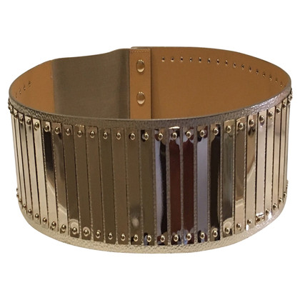 Elisabetta Franchi Gold-colored belt