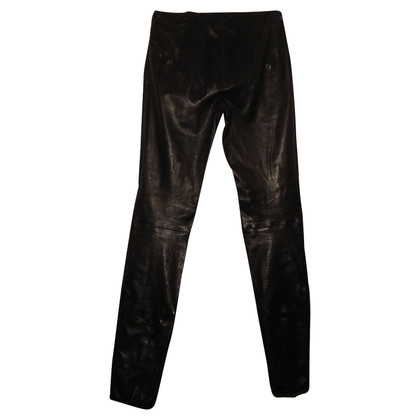 Dsquared2 Pantalone Dsquared 2 zwart leer