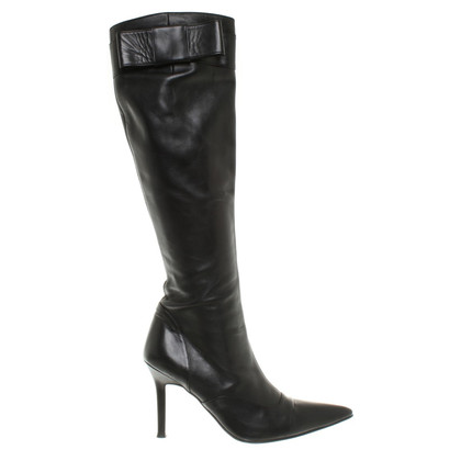 Rena Lange Boots in black leather