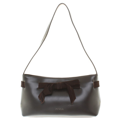 Furla Borsetta in marrone scuro