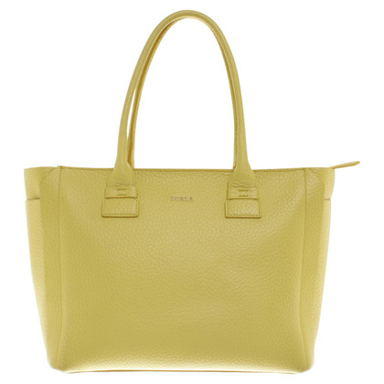 Furla geel Shopper