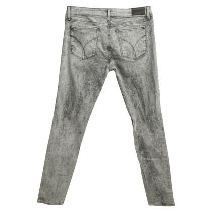 Calvin Klein Jeans with stone-washed pattern