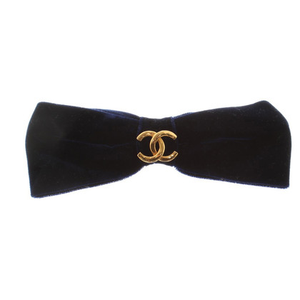 Chanel Velvet Barrette