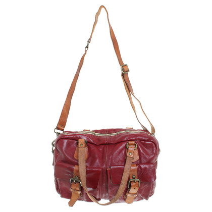 Campomaggi Messenger bag in red