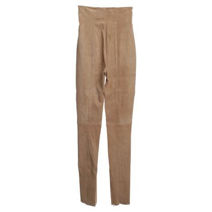 Balmain trousers suede